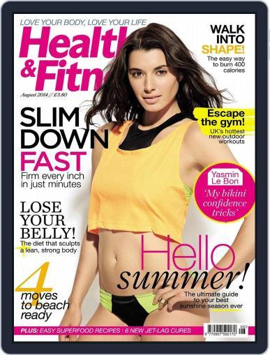 Women´s Fitness June 24th, 2014 Digital Back Issue Cover