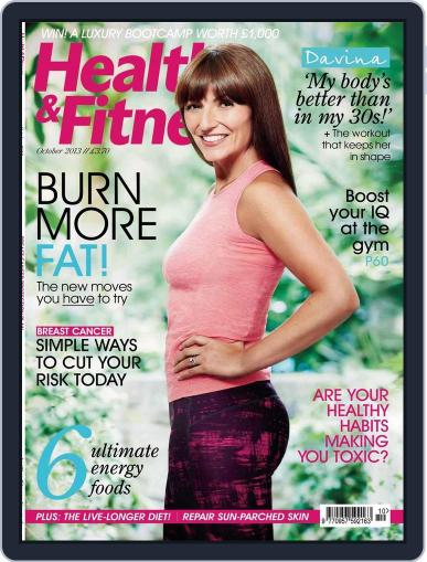 Women´s Fitness August 28th, 2013 Digital Back Issue Cover