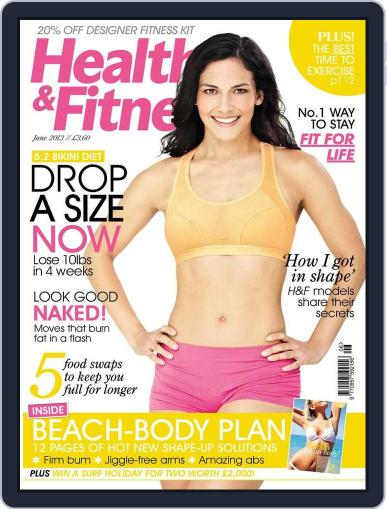 Women´s Fitness April 23rd, 2013 Digital Back Issue Cover