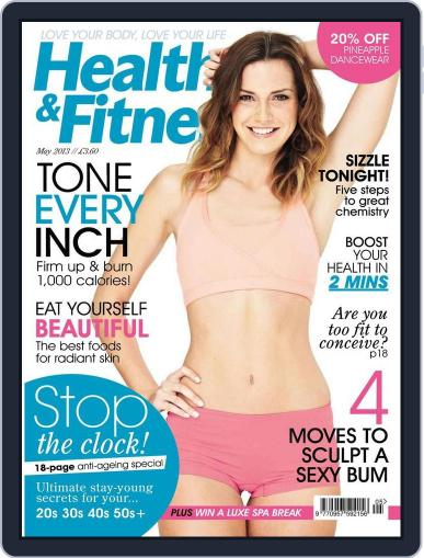 Women´s Fitness April 5th, 2013 Digital Back Issue Cover