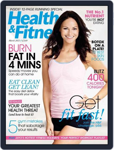 Women´s Fitness January 29th, 2013 Digital Back Issue Cover