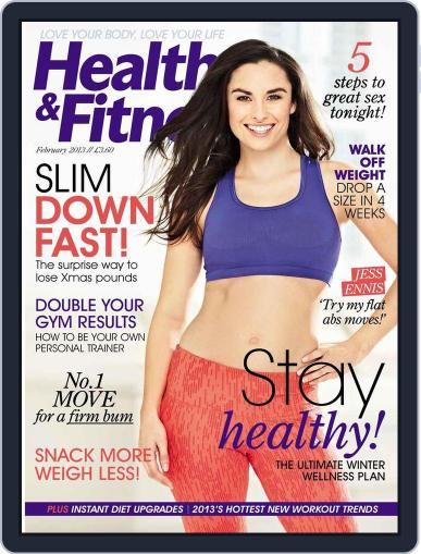 Women´s Fitness December 25th, 2012 Digital Back Issue Cover