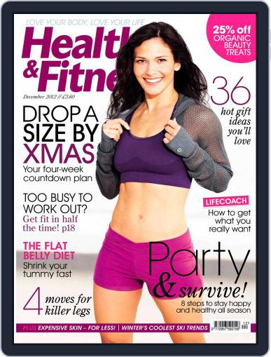 Women´s Fitness October 23rd, 2012 Digital Back Issue Cover