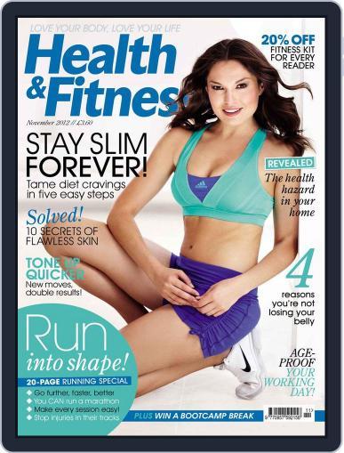 Women´s Fitness September 25th, 2012 Digital Back Issue Cover
