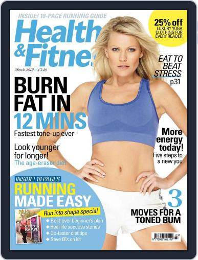 Women´s Fitness January 26th, 2012 Digital Back Issue Cover