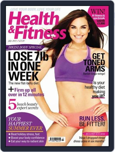 Women´s Fitness May 31st, 2011 Digital Back Issue Cover