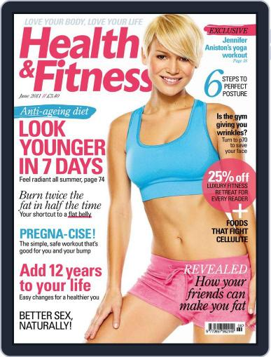 Women´s Fitness April 27th, 2011 Digital Back Issue Cover