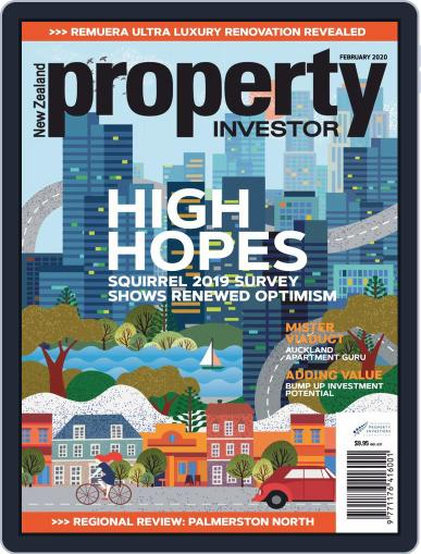 NZ Property Investor February 1st, 2020 Digital Back Issue Cover