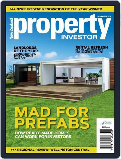 NZ Property Investor November 1st, 2019 Digital Back Issue Cover