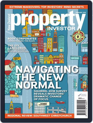 NZ Property Investor February 1st, 2019 Digital Back Issue Cover