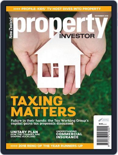 NZ Property Investor November 1st, 2018 Digital Back Issue Cover