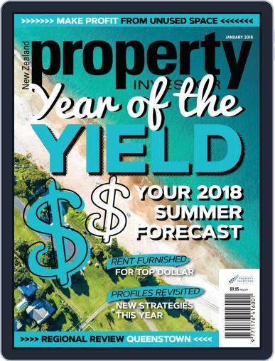 NZ Property Investor January 1st, 2018 Digital Back Issue Cover