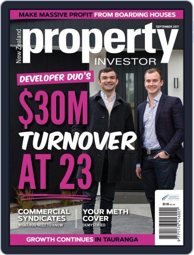 NZ Property Investor September 1st, 2017 Digital Back Issue Cover