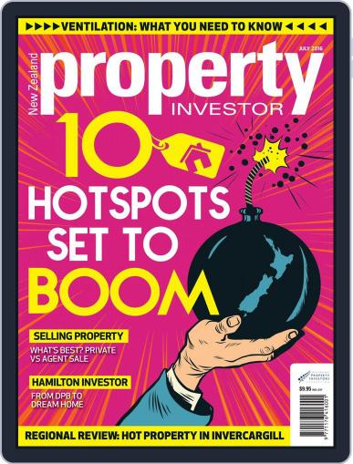 NZ Property Investor (Digital) June 30th, 2016 Issue Cover