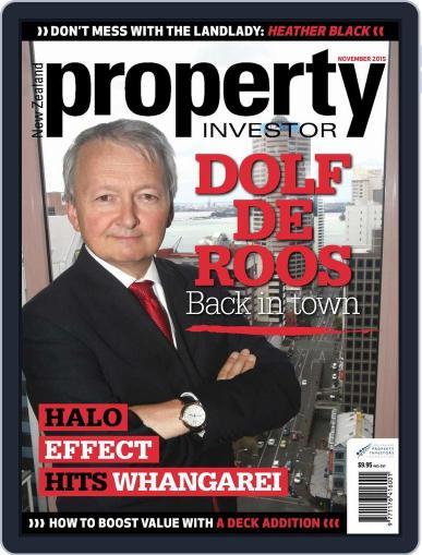 NZ Property Investor (Digital) November 2nd, 2015 Issue Cover