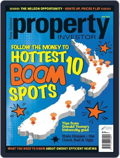 NZ Property Investor May 1st, 2015 Digital Back Issue Cover