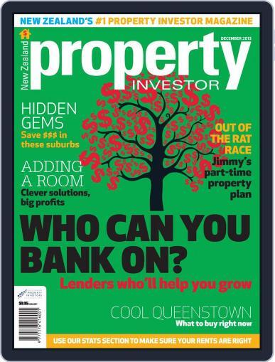 NZ Property Investor (Digital) December 1st, 2013 Issue Cover