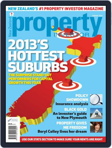 NZ Property Investor August 1st, 2013 Digital Back Issue Cover