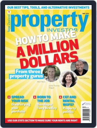 NZ Property Investor (Digital) May 1st, 2013 Issue Cover