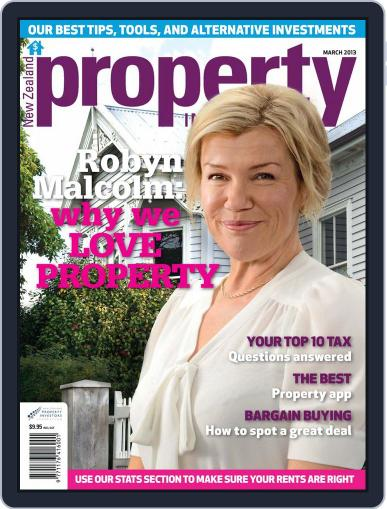 NZ Property Investor (Digital) March 3rd, 2013 Issue Cover