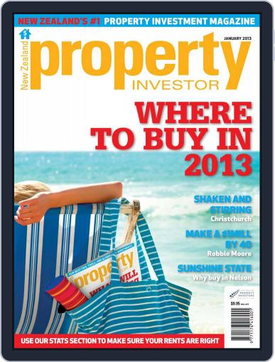 NZ Property Investor (Digital) December 20th, 2012 Issue Cover