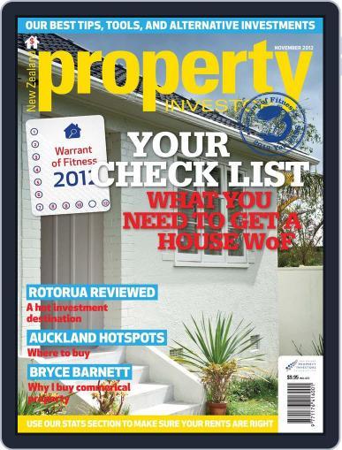 NZ Property Investor (Digital) October 31st, 2012 Issue Cover