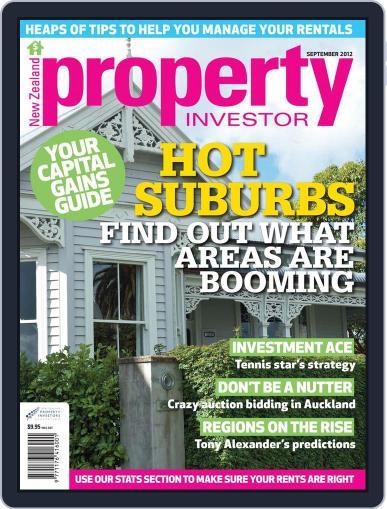 NZ Property Investor September 5th, 2012 Digital Back Issue Cover