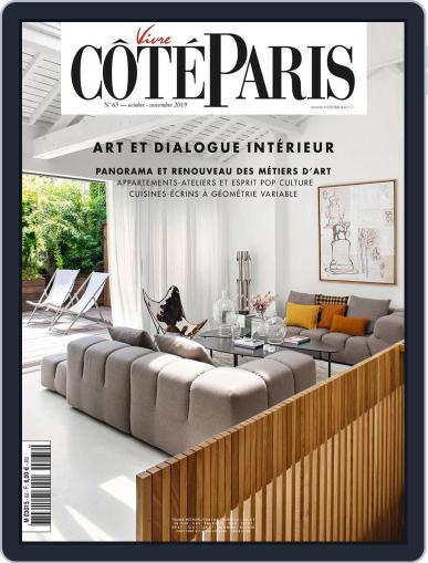 Côté Paris October 1st, 2019 Digital Back Issue Cover