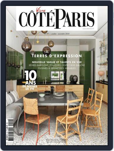 Côté Paris (Digital) October 12th, 2018 Issue Cover