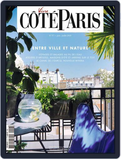 Côté Paris June 1st, 2018 Digital Back Issue Cover