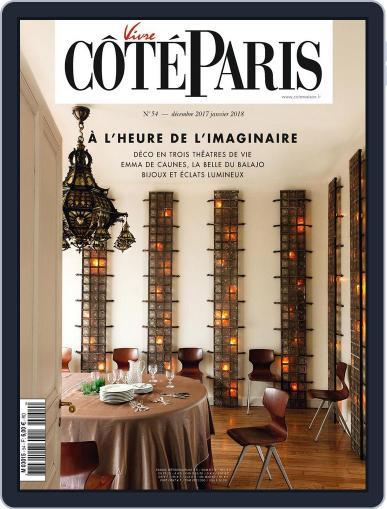 Côté Paris December 1st, 2017 Digital Back Issue Cover