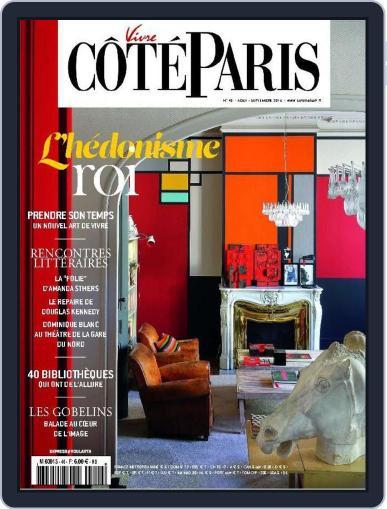 Côté Paris (Digital) August 25th, 2015 Issue Cover