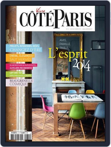 Côté Paris February 7th, 2014 Digital Back Issue Cover