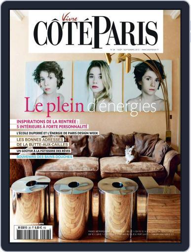 Côté Paris (Digital) August 25th, 2013 Issue Cover