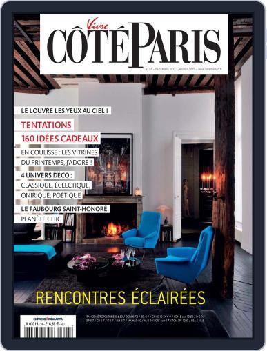 Côté Paris December 6th, 2012 Digital Back Issue Cover