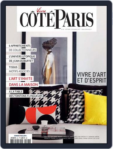 Côté Paris (Digital) October 11th, 2012 Issue Cover