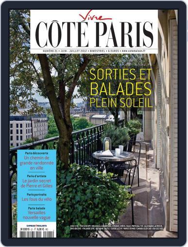 Côté Paris July 5th, 2012 Digital Back Issue Cover