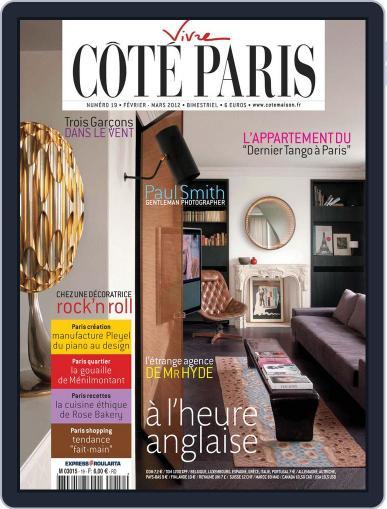 Côté Paris February 3rd, 2012 Digital Back Issue Cover
