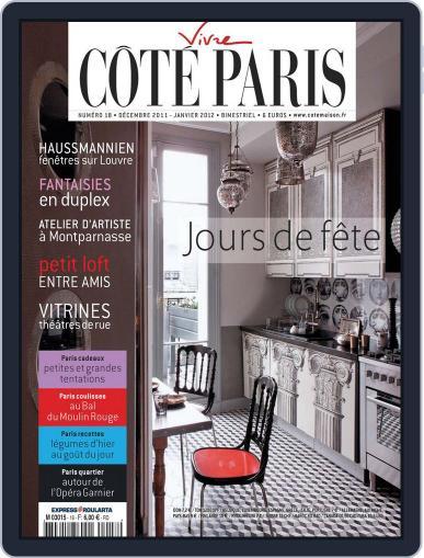 Côté Paris (Digital) November 30th, 2011 Issue Cover