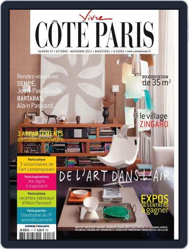 Côté Paris (Digital) October 10th, 2011 Issue Cover