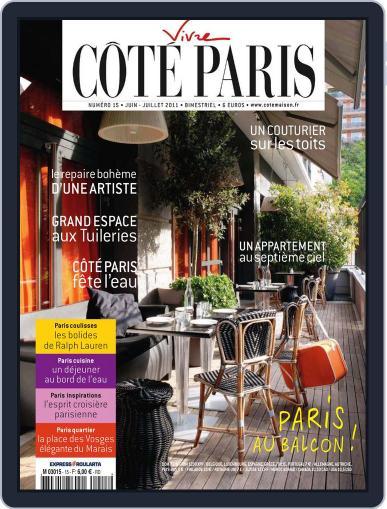 Côté Paris (Digital) June 6th, 2011 Issue Cover