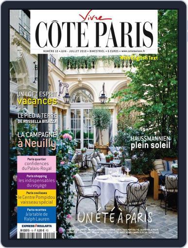 Côté Paris June 3rd, 2010 Digital Back Issue Cover