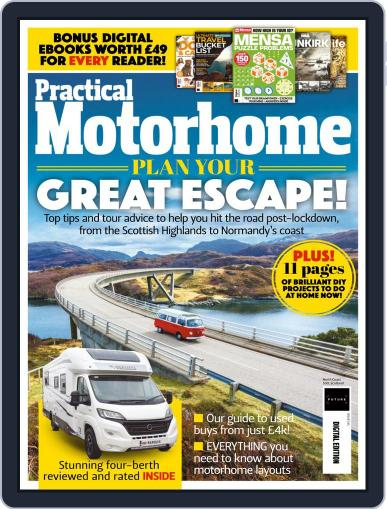 Practical Motorhome July 1st, 2020 Digital Back Issue Cover