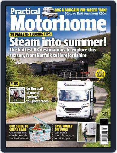 Practical Motorhome (Digital) August 1st, 2018 Issue Cover