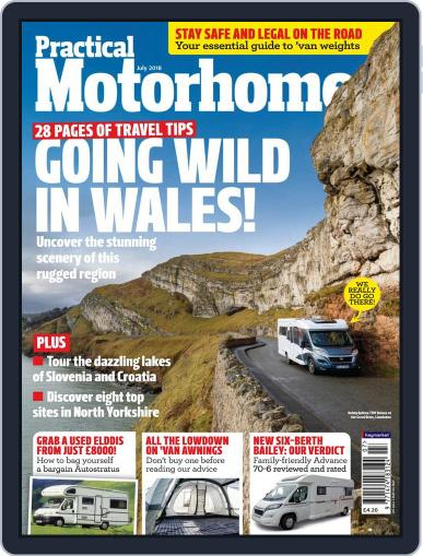 Practical Motorhome (Digital) July 1st, 2018 Issue Cover