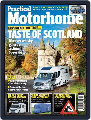 Practical Motorhome (Digital) June 1st, 2018 Issue Cover