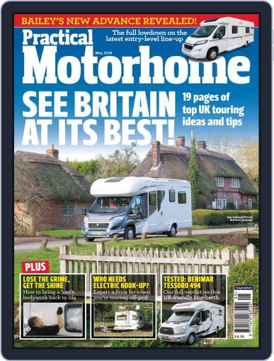 Practical Motorhome May 1st, 2018 Digital Back Issue Cover