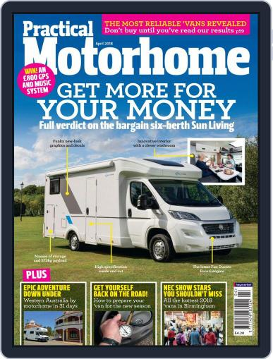 Practical Motorhome (Digital) April 1st, 2018 Issue Cover