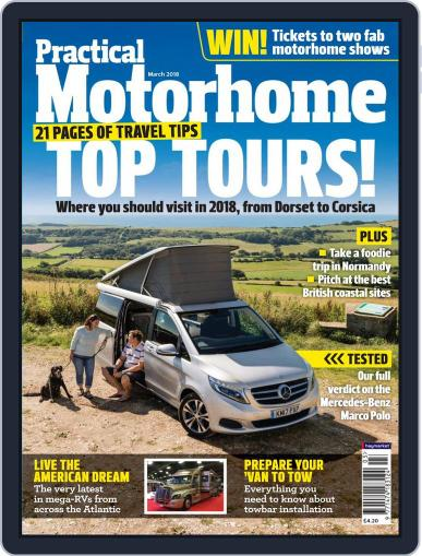 Practical Motorhome (Digital) March 1st, 2018 Issue Cover