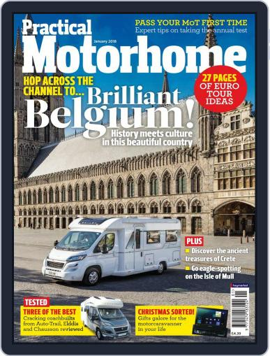 Practical Motorhome (Digital) January 1st, 2018 Issue Cover
